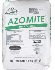 Azomite, Micronized, plant nutrition, natural volcanic, trace minerals, animal supplement