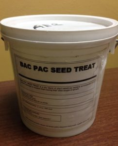 Agri Energy Resources, Bac Pac Seed Treat, microbial, dry planter box treatment