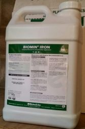 JH Biotech, Biomin Iron, plant nutrition, amino acid chelate, micronutrients