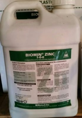 JH Biotech, Biomin Zinc, plant nutrition, amino acid chelate, micronutrients
