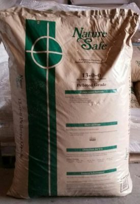Griffin Industries, Nature Safe 13-0-0, plant nutrient, feathermeal pellets, slow release nitrogen