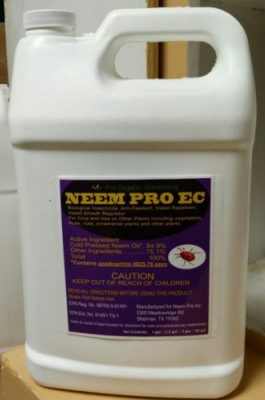 Neem Pro EC, pest control, pre-emulsified, cold pressed, natural oil