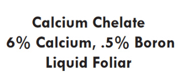 Natural Resources Group, Calcium Chelate, plant nutrition, liquid foliar, boron