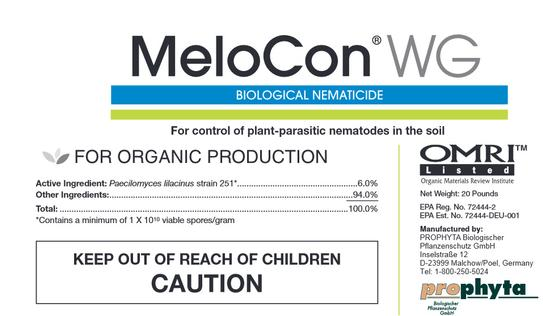 Certis, MeloCon WG, plant protection, Biological Nematicide
