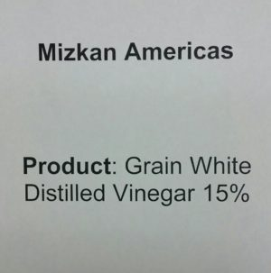 Mizkan Vinegar 15%, water treatment, drip irrigation cleaner, ph adjuster