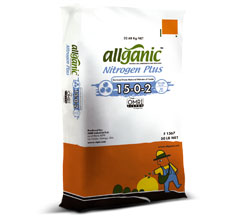 Allganic Nitrogen Plus 15-0-2, SQM, plant nutrition, water soluble