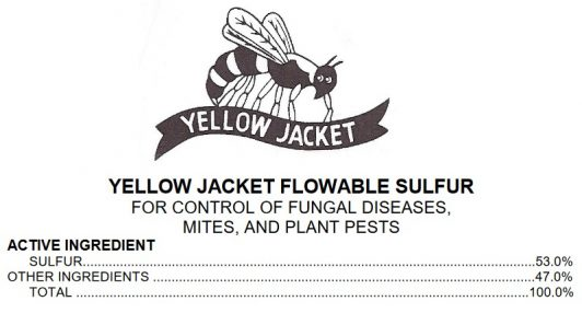 International Sulfur, Yellow Jacket Flowable Sulfur