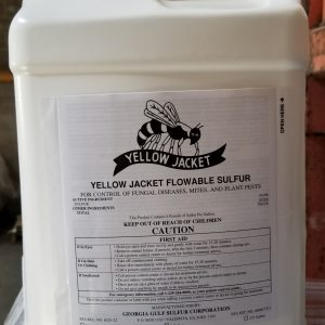 International Sulfur, Inc., Yellow Jack Flowable Sulfur, broad spectrum insecticide and fungicide