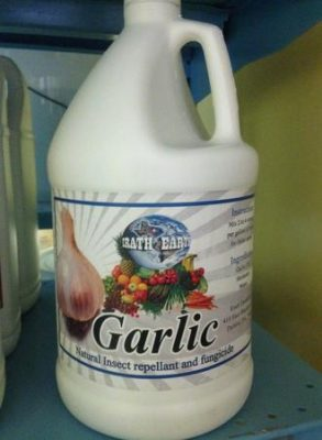 Erath Earth Garlic Oil, Erath Earth, Garlic Oil, plant protection, adjuvant, insect deterrent, penetrant