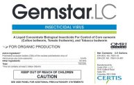 Gemstar LC, Certis, plant protection, insecticidal virus