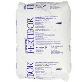 U.S. Borax, Fertibor, soil treatment, sodium borate 15%