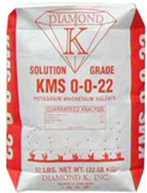 Diamond K KMS, soil treatment, plant nutrition, water soluble