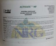 Natural Resources Group, Activate NF, Microbial Inoculant, Bacillus megaterium, B. subtilis, B. licheniformis and B. species