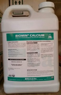 JH Biotech, Biomin Calcium, plant nutrition, amino acid chelate, micronutrients