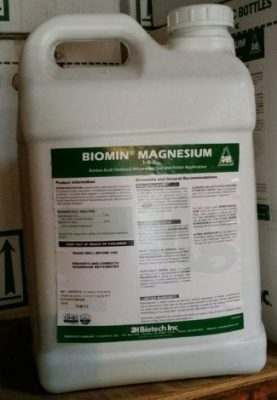JH Biotech, Biomin Magnesium, plant nutrition, amino acid chelate, micronutrients
