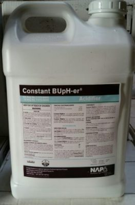Northwest AgriProducts, Constant BUpH-er, water treatment, adjuvant, Spray Tank pH Regulator