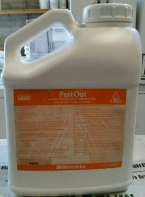 JH Biotech, Pest Out, plant protection, miticide, insecticide, cottonseed, clove, garlic oils, spray oil