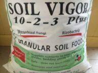 Natural Resources Group, Soil Vigor 10-2-3, plant nutrition, mychorrizae