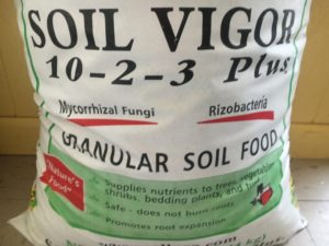 Natural Resources Group, Soil Vigor 10-2-3, plant nutrition, mychorrizae