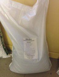 Ida Gro Pelletized Phosphate, Soda Springs Phosphate, Ida Gro 0-3-0, soft rock, soil treatment