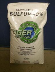 Sulfur 90%, for Soil
