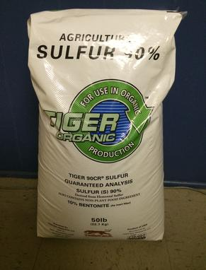 Sulfur 90%, for Soil