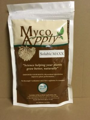 MycoApply Soluble Maxx, Endo Ecto Mycorrhizae, soil, root, microbial