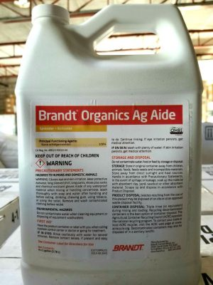 Brandt Organics Ag Aide