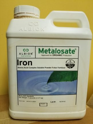 Albion, Metalosate Iron, plant nutrition, amino acid chelate, micronutrients