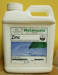 Albion, Metalosate Zinc, plant nutrition, amino acid chelate, micronutrients