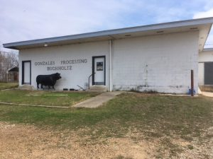 Gonzales Processing, Texas State Inspected Meat Processor