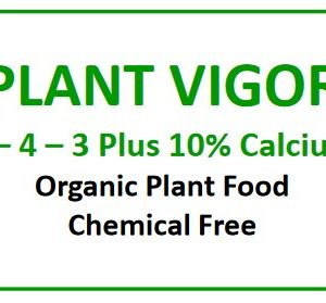 Natural Resources Group, Plant Vigor 3-4-3