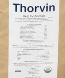 Thorvin, Kelp For Animals, Kelp Meal