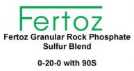 Fertoz, Rock Phosphate Sulfur Blend 0-20-0 with 90S
