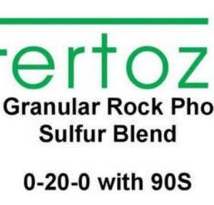 Fertoz, Rock Phosphate Sulfur Blend 0-20-0 with 90S