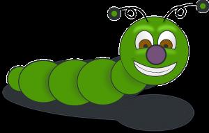 worm cartoon